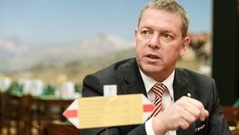 Gastrosuisse Präsident Casimir Platzer.