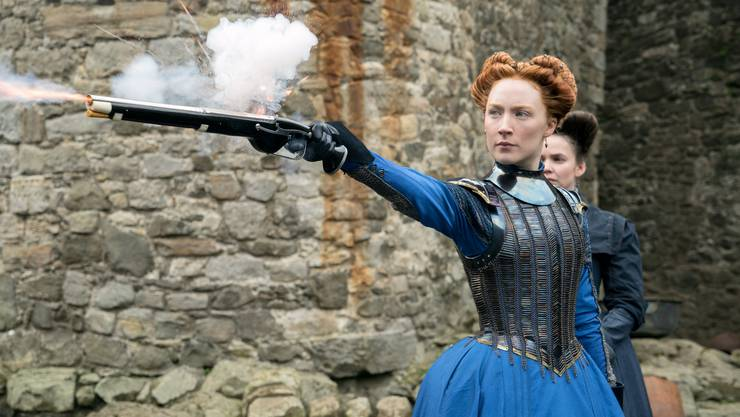 Die irische Schauspielerin Saoirse Ronan verfügt als Maria Stuart über eine natürliche Würde und Ausstrahlung.