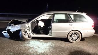 Mehrere entgegenkommende Autos konnten noch in letzter Sekunde ausweichen – auf Höhe Birrfeld kam es dann doch zur Frontalkollision.