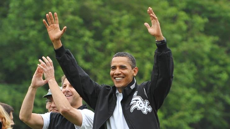 Politischer Popstar: Barack Obama sticht in Vorbildumfragen selbst Jesus Christus aus.