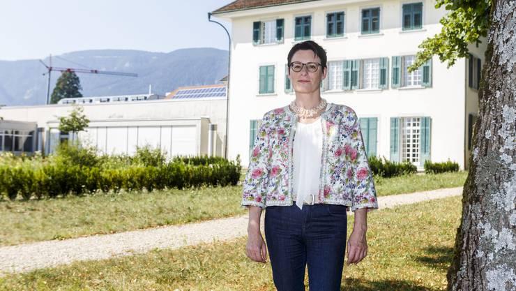 Yvonne Leimgruber, neue Direktorin der Zentralbibliothek Solothurn
