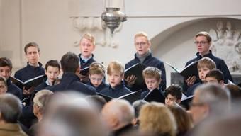 Die Singknaben überzeugten am Wochenende in Soloturn und Olten und entführten die Zuhörer in die Klangwelt barocker und zeitgenössischer Chormusik (Archivbild).