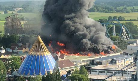 Europapark Brandursache