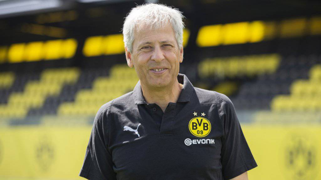 Lucien Favre geht frisch und ausgeruht in seine zweite Saison mit Borussia Dortmund