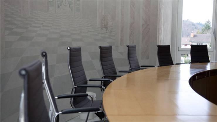 Der Platz im Bezirksgericht Kulm blieb leer.