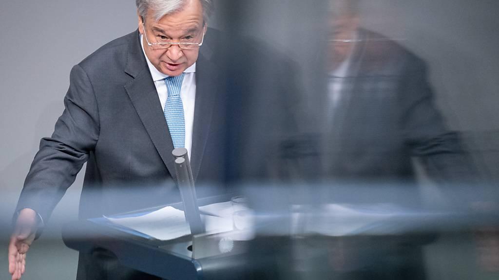 Auszeichnung «Lampe des Friedens» für UN-Generalsekretär Guterres