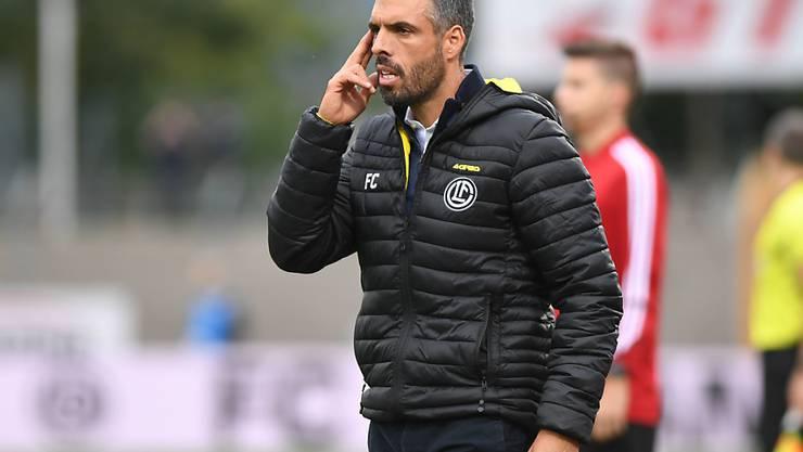 Fabio Celestini wird neuer Trainer beim FC Luzern