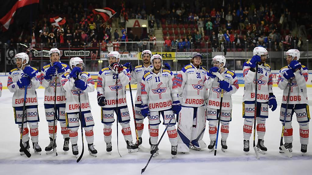 Kloten feierte einen weiteren Sieg in Winterthur