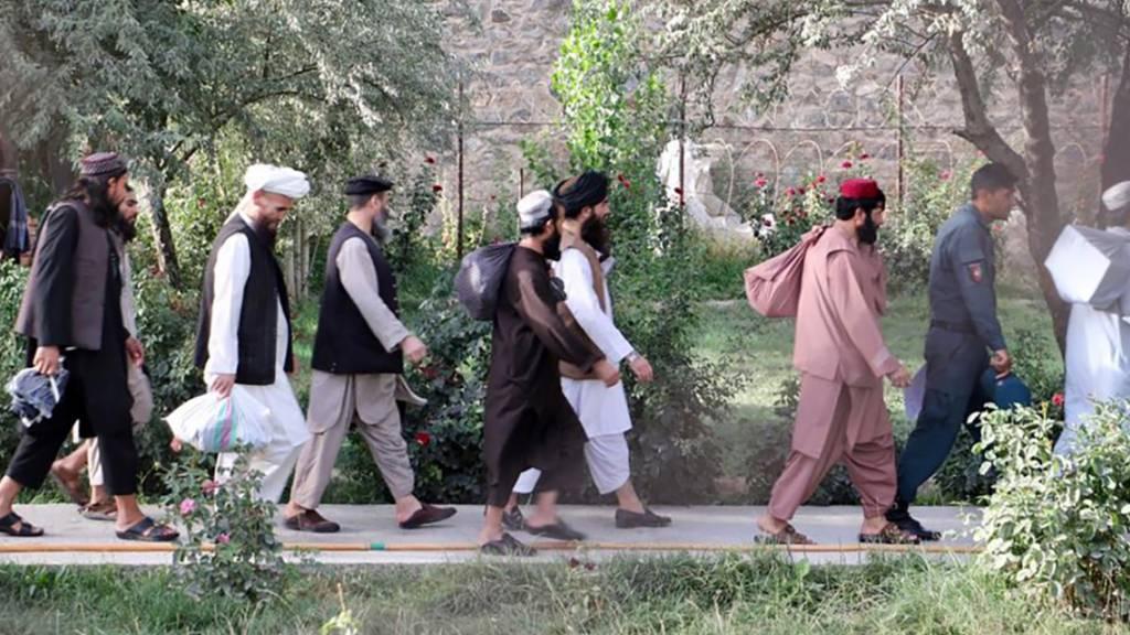 Kabul lässt hochgefährliche Taliban-Kämpfern frei