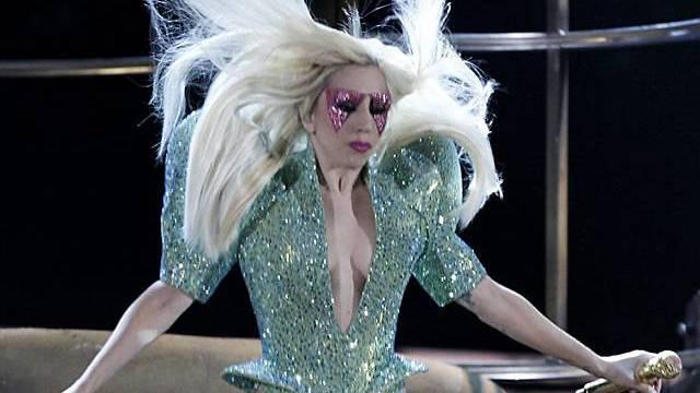 Lady Gaga: Mit vollem Einsatz auf der Bühne