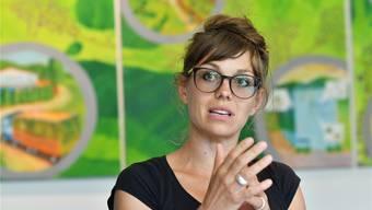 Josephina Vogelsang, Projektleiterin «Wir sind Eins», erklärt, was sie alles im Sinn hat.