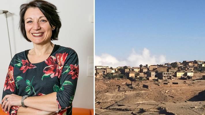 Yvonne Feri in Eritrea