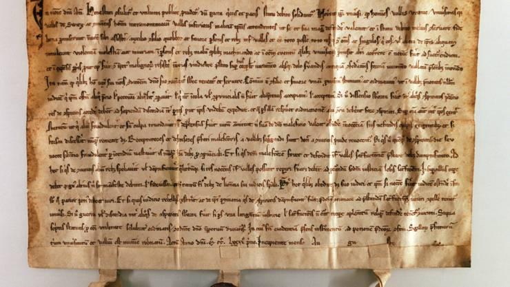 Der Bundesbrief bleibt in Schwyz: Die Regierung will Lugano das historische Dokument nicht ausleihen.