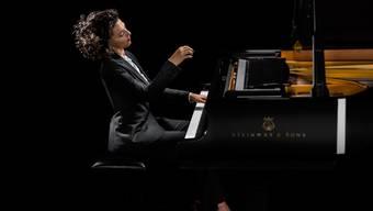 Sogar Coldplay wollen mit ihr Musik machen: Pianistin Khatia Buniatishvili .
