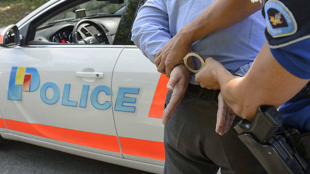 Der unter Terrorverdacht stehende Mann wurde am Mittwoch in Genf verhaftet. (Symbolbild)