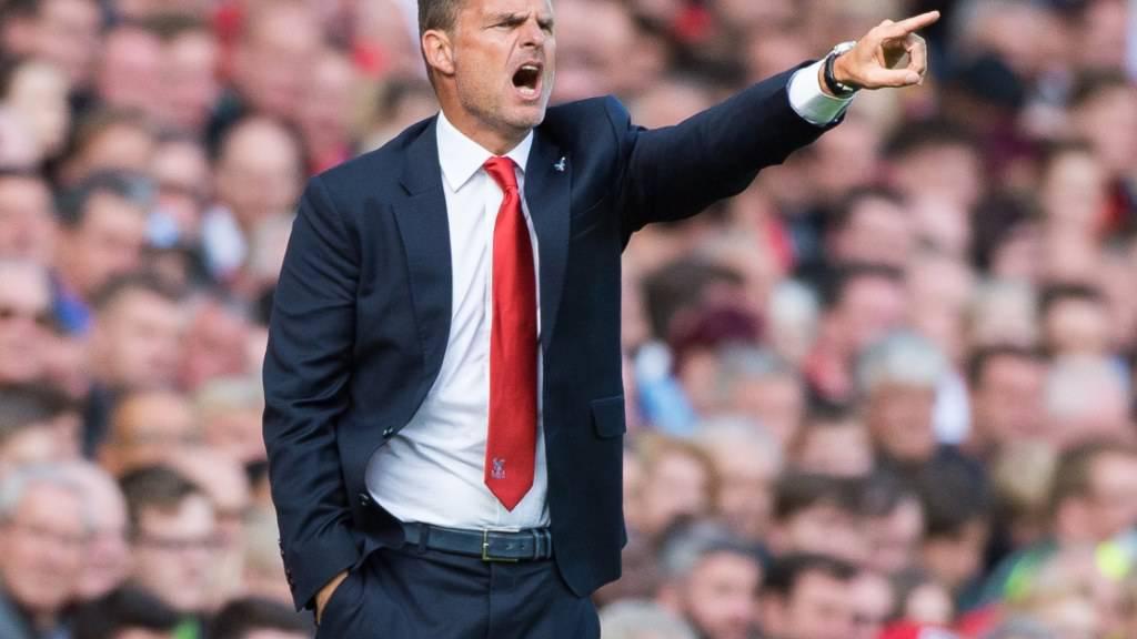 Frank de Boer wird niederländischer Nationaltrainer