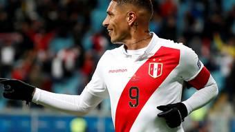 Paolo Guerrero steht mit Peru im Final der Copa America