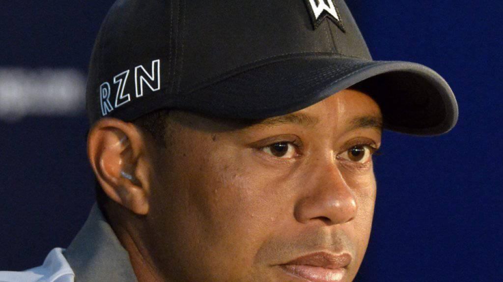 Startverzicht: Tiger Woods' traurige Zeit geht weiter