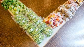 Der Verein «Tischlein deck dich» gibt Lebensmittel an bedürftige Personen ab.