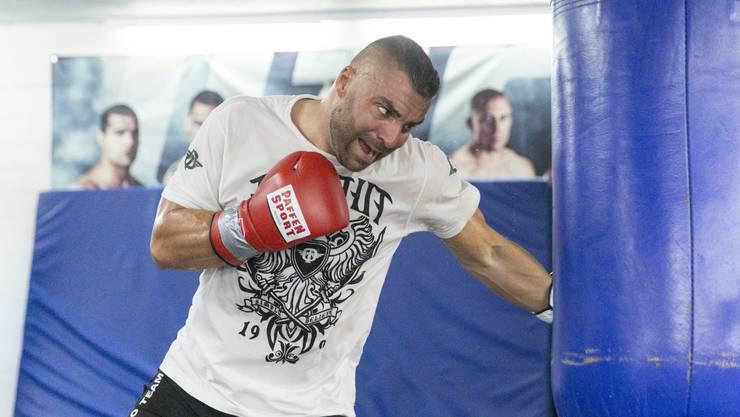 Alexander Nedbei boxt, seit er 18 Jahre alt ist. (Archivbild)