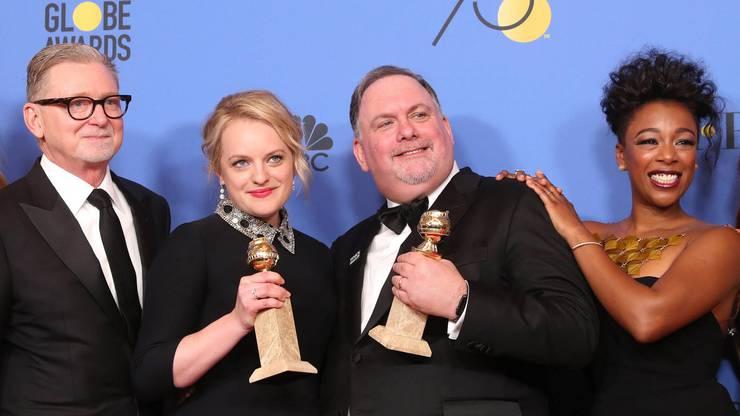 Beste TV-Serie - Drama: «The Handmaid's Tale» sowie Beste Schauspielerin in einer TV-Serie - Drama: Elisabeth Moss