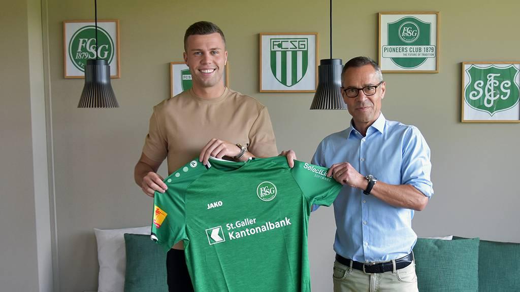 Der FC St.Gallen verpflichtet Florian Kamberi