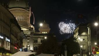 Das Feuerwerk auf dem Gurten ist für dieses Jahr gesichert. (Archiv)