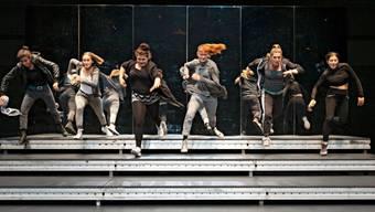 """Das Jugendstück """"Flex"""" wurde am 11. September 2019 am Schauspielhaus Zürich im Rahmen des Festivals zur Eröffnung der Saison aufgeführt. Regie führte Suna Gürler."""