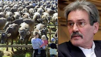Der Solothurner Ständerat Roberto Zanetti setzt sich für die Viehschauen ein.