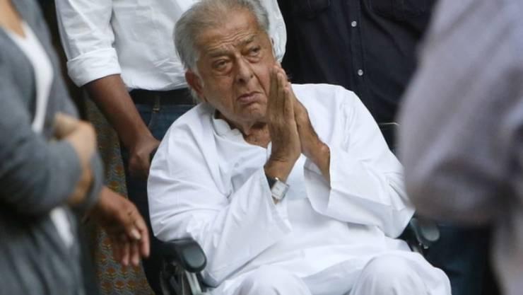 Der indische Schauspieler Shashi Kapoor ist Anfang Dezember 2017 im Alter von 79 Jahren gestorben. (Archiv)