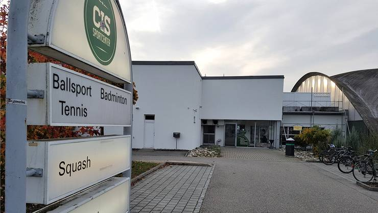 Das CIS-Sportzentrum. Noch kommen die Solothurner Berufsschüler hier zu ihrem Turnunterricht.