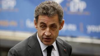 Seine Partei ist im Aufwind: Nicolas Sarkozy (Archiv)