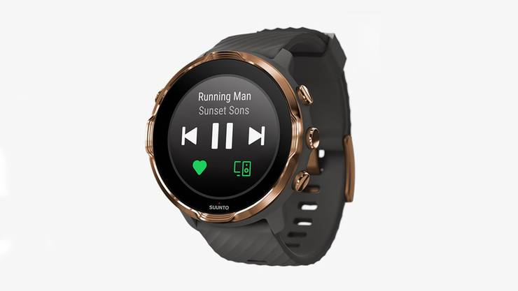 Die Suunto 9 Smartwatch von Suunto.