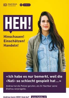 Plakat der neuen Kampagne.