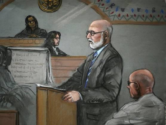 """James """"Whitey"""" Bulger (rechts) wurde zu lebenslanger Haft verurteilt."""