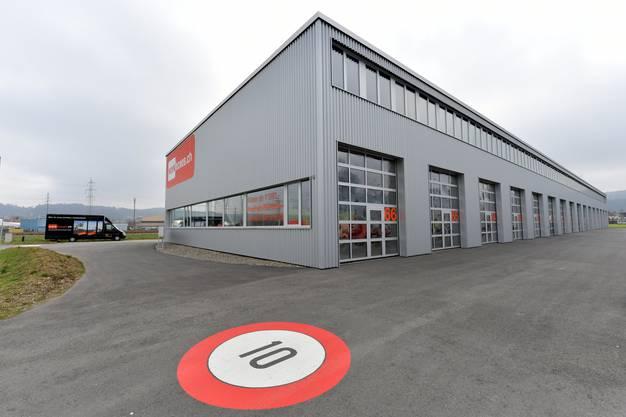 Die «Workboxes» in Gretzenbach dienen als Gewerberäume für Kleinunternehmer.