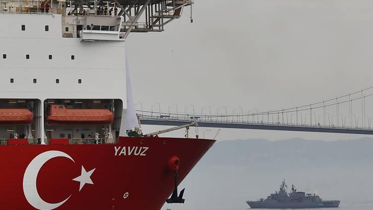 Die EU beschliesst Strafmassnahmen gegen die Türkei wegen der als illegal erachteten Erdgasbohrungen vor Zypern. (Archivbild)