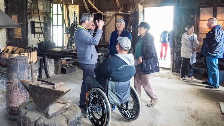 Der «Tag der offenen Tür» der alten Schmitte von Anfang Mai war gut besucht.Thomas Moor