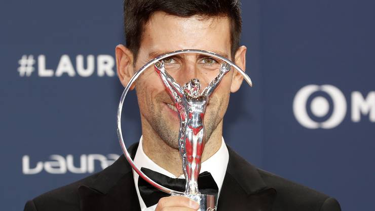 Sportler des Jahres: Novak Djokovic mit der Auszeichnung