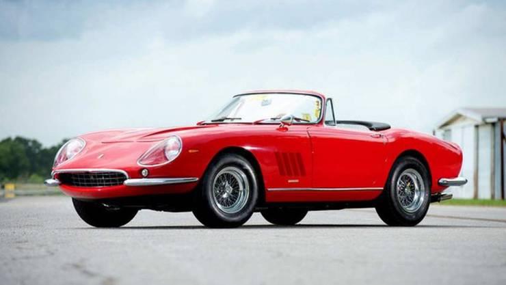 Ferrari 275 GTB/4 N.A.R.T.: Ein Schweizer schlug bei 25 Millionen Franken ein.