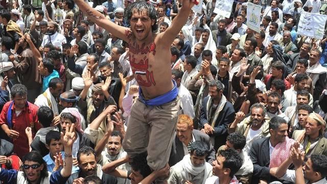 Auch in Sanaa wird protestiert