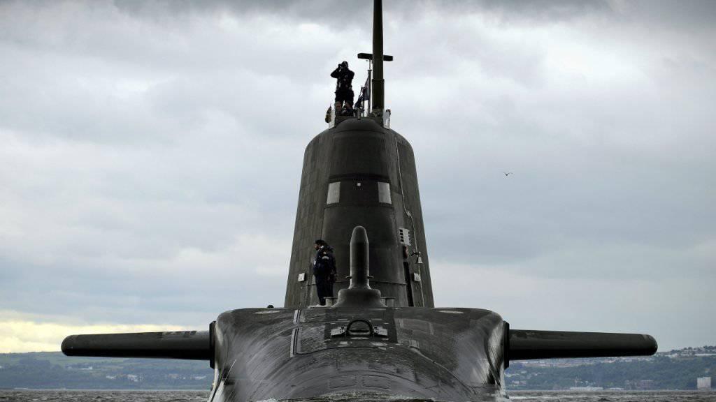 Fast 44 Milliarden Franken geben die Briten für die Erneuerung ihrer Atom-U-Boot-Flotte aus. (Archivbild)