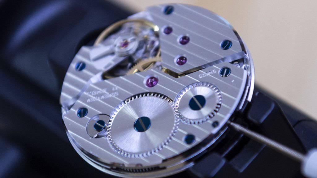Die Schweizer Uhrenexporte sind im November gestiegen. (Archiv)