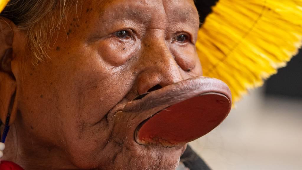 Häuptling Raoni Metuktire, Kämpfer für den Schutz des brasilianischen Regenwaldes und die Rechte der indigenen Urbevölkerung, ist an Covid-19 erkrankt.