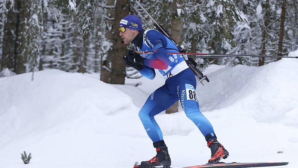 Schweizer Biathleten weit zurück