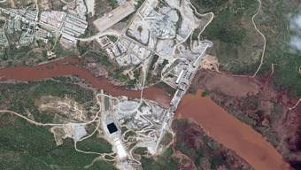 Der Staudamm ist Hoffnungsprojekt und Zankapfel.