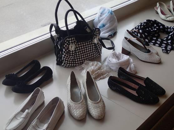 Auch Schuhe und Taschen sind beliebt