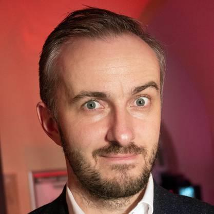 Jan Böhmermann ist Satiriker und Moderator.