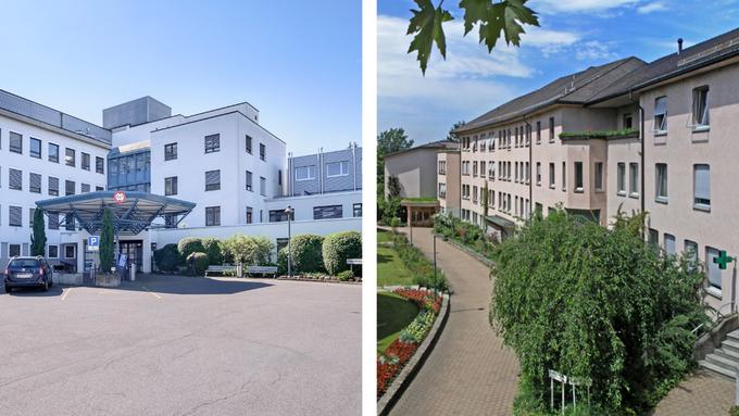 Das Spital Dornacht (l.) und die Klinik Arlesheim (r.) vertiefen die bestehende Koorperation.