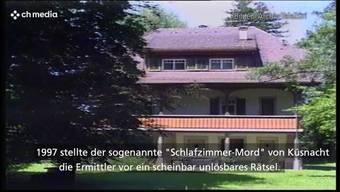 """Der sogenannte """"Schlafzimmer-Mord"""" von Küsnacht (ZH) stellte die Ermittler 1997 vor ein scheinbar unlösbares Rätsel. Eine 86-jährige Frau war damals in ihrer Villa ermordet worden. 23 Jahre später erhebt die Zürcher Staatsanwaltschaft Anklage gegen einen 77-Jährigen."""